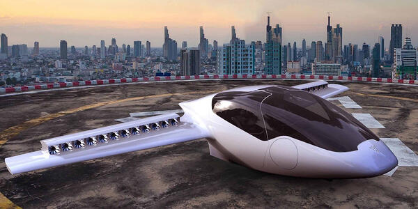 Lilium air taxis