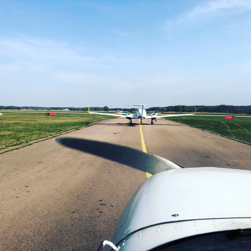 Busy day at the airfield