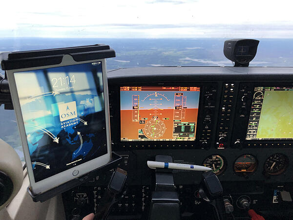 Navigation to check Swedens new airport