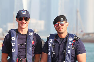 Tim and section head of the Coast Guard in Qatar.