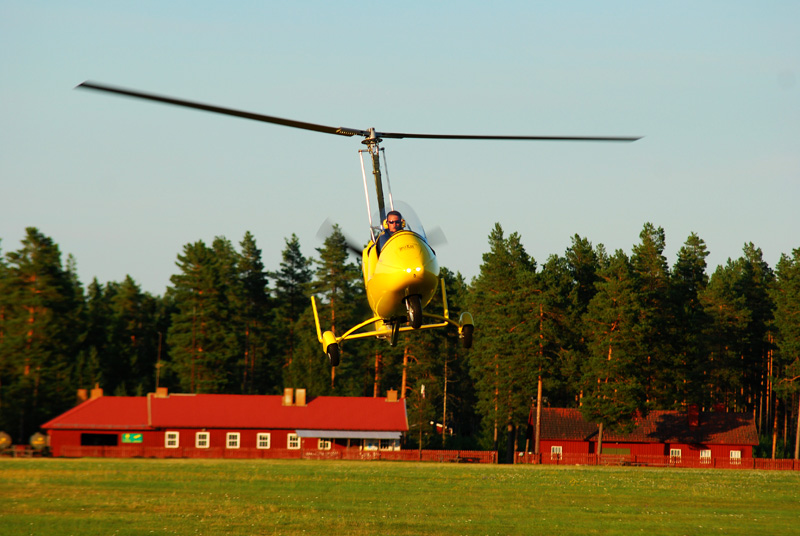 Tim became a Flight Instructor for the Gyrocopter