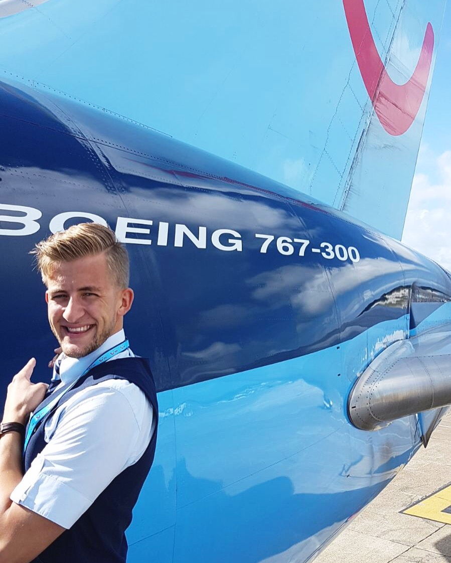 William Nilsson at Tui - Cabin Crew