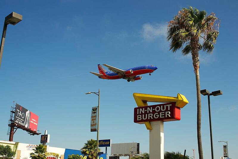 LA Lax Airport In-N-Out-Burger