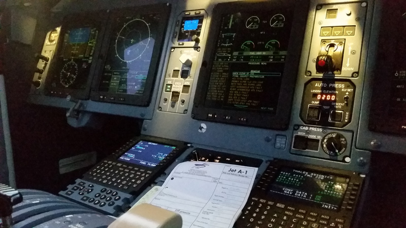 After take-off checklist for the ATR 72-600