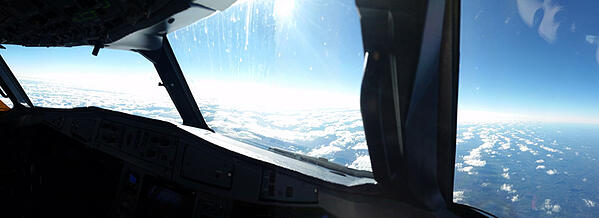 View from the ATR 72-600