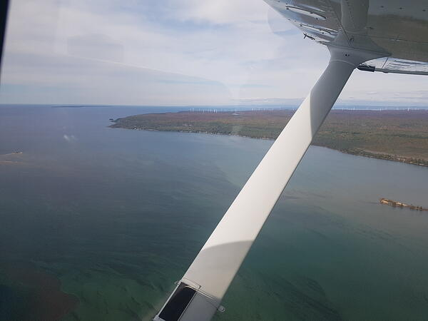 Approach to Sault Ste. Marie