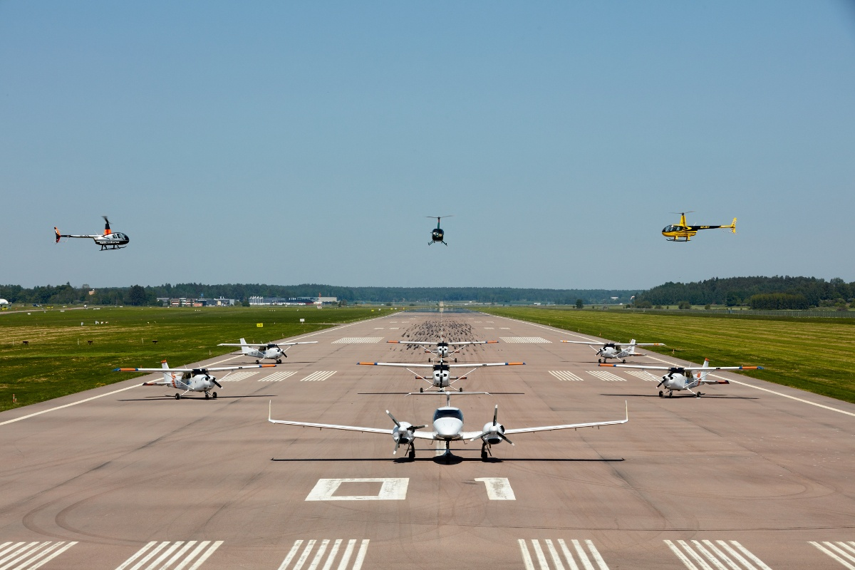 10. OSM Aviation Academy Fleet